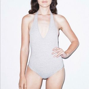 American Apparel Other - American Apparel Halter Bodysuit